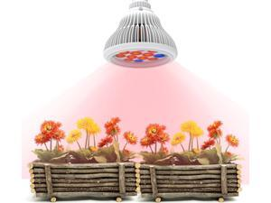 Image® LED Grow Light bulb, High Efficient Hydroponic Plant Grow Lights system for Garden Greenhouse and Hydroponic Aquatic,E27 12W