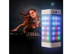 AGPTEK Original Pulse Rectangle Speaker, Wireless Changeful Flashing Speaker with build in Microphone for iphone6,iphone6 plus, Ipad, Samsung Galaxy Tablets/Laptop/PC