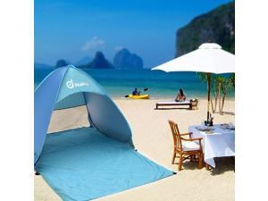Sunshade Basecamp Shelter Automatic Pop Up Instant Portable Outdoors Quick Cabana Beach Tent folding