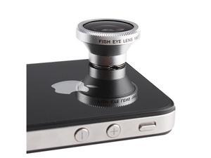 Magnetic Ring 180° Fisheye Lens for Apple iPhone 5 iPhone 4s iPod Nano 4G