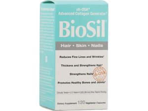 Biosil Active Silicon, 120 Veggie Caps, From Natural Factors