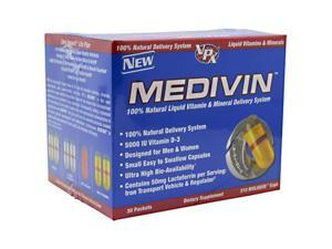 Medivin Liquid Vitamin & Mineral, 30 Packets, From VPX