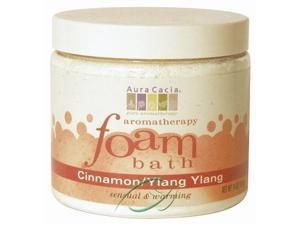 Aura Cacia, Aromatherapy Foam Bath Cinnamon Ylang Ylang 14 oz