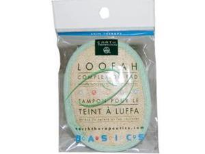 Loofah-Complexion Pad - Earth Therapeutics - 1 - Pad