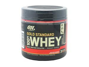 100% Whey Double Rich Chocolate  3 Servings From Optimum