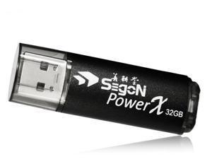 SEgoN Power-X USB 2.0 Flash Drive 32GB (Black)