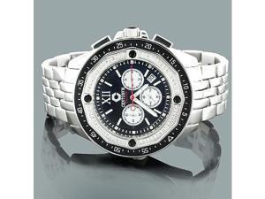 Centorum Diamond Watch: Mens Chronograph Falcon 0.55ct