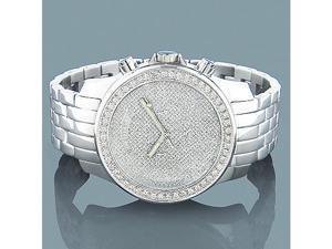 Mens Diamond Watches: LUXURMAN Diamond Watch 2.5ct