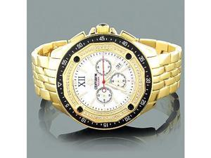 Centorum Falcon Mens Diamond Watch 0.55ct Chronograph