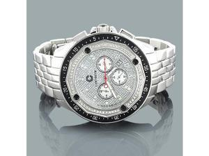 Centorum Mens Diamond Watch 0.55ct Chronograph Falcon