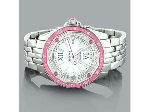 Pink Watches: Centorum Ladies Diamond Watch 0.50ct