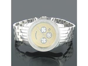 Luxurman Wrist Watches Mens Diamond Watch 0.25ct