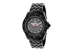 Black Centorum Diamond Watch 0.5ct Midsize Falcon
