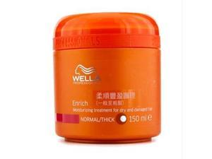 Wella - Enrich Moisturizing Treatment for Dry & Damaged Hair (Normal/Thick) 150ml/5oz