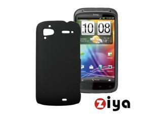 [ZIYA] HTC Sensation Back Cover Case- Black (Ultra Thin)
