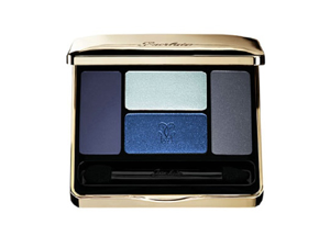 Guerlain Long Lasting Eyeshadows Captivating 4 Colors 02 Les Bleus 7.2g / 0.25 oz