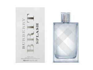 Brit Splash by Burberry for Men 3.3oz Eau De Toilette Spray