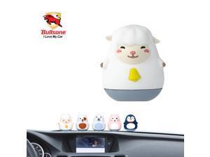Car Air Freshener, [Lavender] Bullsone Pola Family Dashboard MongYi