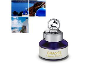Premium Car Air Freshener, [Santorini Breeze] Natural French Oil Bullsone Grasse L'esterel