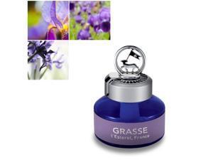 Premium Car Air Freshener, [Firenze Iris] Natural French Oil Bullsone Grasse L'esterel