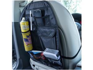 Universal Car Back Seat Organizer Pocket Bag [Black]