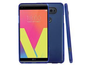 LG V20 Case,  [BLUE] Slim & Flexible Anti-shock Crystal Silicone Protective TPU Gel Skin Case Cover for LG V20