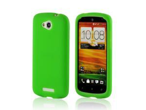 Neon Green Silicone Case for HTC One VX
