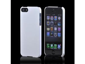 Premium High Impact Resistant Apple iPhone 5 Ultra Slim Rubberized Hard Plastic Snap On Shell Case Cover - Pearl Matte