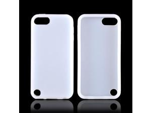 Frost White Apple Ipod Touch 5 Rubbery Soft Silicone Skin Case