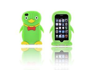 Apple iPhone 4/4S Silicone Case - Neon Green Duck