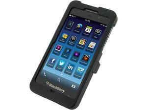 OEM Monaco Black Aluminum Case w/ Open Screen Design for Blackberry Z10