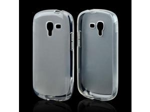 Samsung Galaxy Exhibit Case, [Clear] Slim & Flexible Anti-shock Crystal Silicone Protective TPU Gel Skin Case Cover