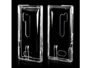 Nokia Lumia 928 Case, [Clear] Slim & Protective Crystal Glossy Snap-on Hard Polycarbonate Plastic Case Cover
