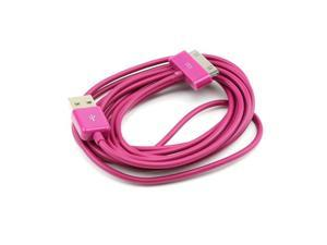 Marvelous Magenta 6 Ft. Apple Iphone/ Ipod USB Charge & Sync Data Cable
