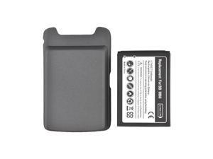Blackberry Torch 9860, 9850 Extended Long Life Battery W/ Door - Black (2600 Mah)