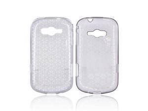 Samsung Galaxy Reverb Case, [Smoke Gray] Slim & Flexible Anti-shock Crystal Silicone Protective TPU Gel Skin Case Cover