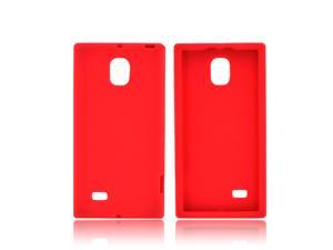 LG Spectrum 2 Silicone Case - Red