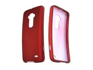 LG G Flex Case, [Red] Slim & Protective Rubberized Matte Finish Snap-on Hard Polycarbonate Plastic Case Cover