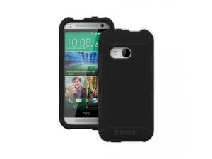 Trident Black Aegis Series Silicone Protective Hybrid Case w/ Screen Protector for HTC One 2 - 848891016102