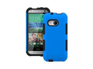 Trident Blue/Black Aegis Series Silicone Protective Hybrid Case w/ Screen Protector for HTC One 2 - 848891016119