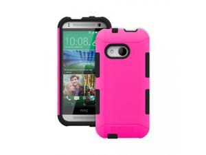 Trident Hot Pink/Black Aegis Series Protective Hybrid Case w/ Screen Protector for HTC One 2 - 848891016126