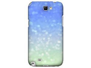 Slim & Protective Custom Printed Hard Case for Samsung Galaxy Note 2 - Menthe Blue