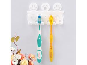 Smiling Face Toothbrush Holder Stand