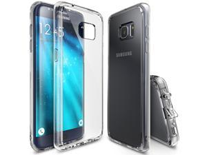 Samsung Galaxy S7 Edge Case, Ringke? [FUSION][Crystal View] Absorb Shock TPU Bumper Clear Case