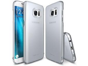 Samsung Galaxy S7 Edge, Ringke [SLIM][Frost Gray] Snug-Fit Ultra-Thin All Coverage Hard Case