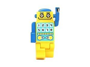 Robot USB HUB w  4 Ports and LED Eyes (2.0 Hi-Speed) Mini USB Cable Included - Yellow