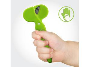 Safety Scissors w/ Rotating Blades - Great For Children! [Zero-Cutter R2]