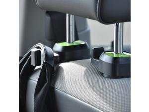 Multifunction car seat hook  [Black/ Green] single vehicle seat back car hanger hook
