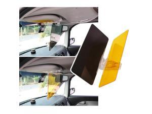 [Eutuxia] Car Sunvisor - HD Anti-Glare Sun Shielding Visor with Dual [Day/Night] Mode for Enhanced Visibility on the