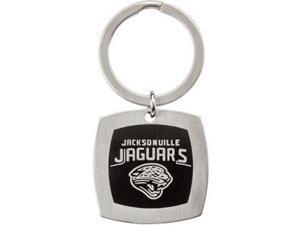 Jacksonville Jaguars Logo Keychain in Stainless Steel